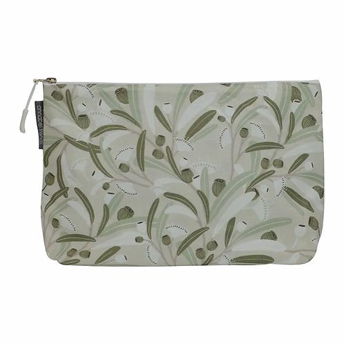 Cosmetic Bag – Large – Gumnuts Sage