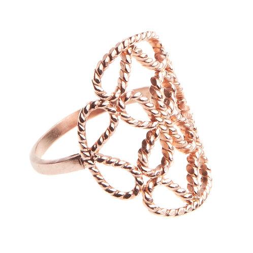 Carmesí Rose Gold Ring