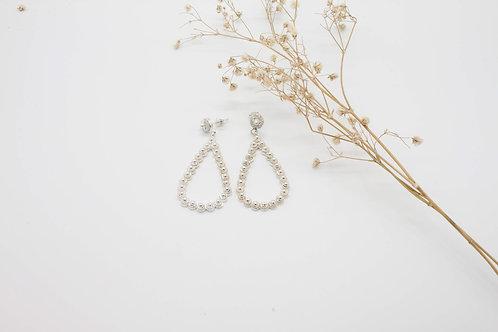 Mitu Earrings - Solid Sterling Silver