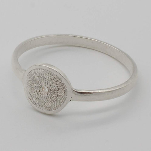 Jodie Circulo Ring - Solid Sterling Silver