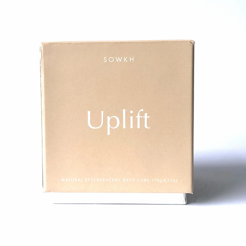 Uplift - NATURAL EFFERVESCENT BATH CUBE