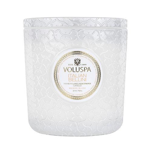 VOLUSPA Italian Bellini 3 Wick Luxe Candle