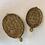 Thumbnail: Tortoise Plate - Antique Gold