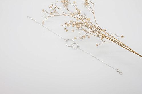 ARO Doble Bracelet - Solid Sterling Silver