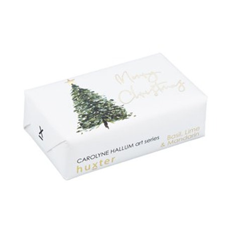 'Oh Christmas Tree' -  Wrapped Soap