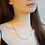 Thumbnail: Rosy Pretty Pebble Necklace - Najo