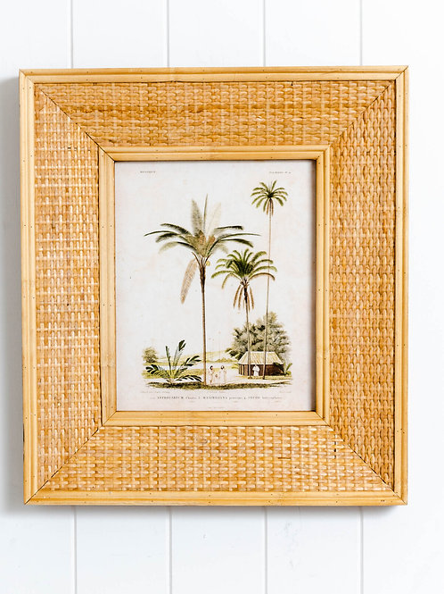 Woven Timber Photo Frame - Lulu - Natural 39x44