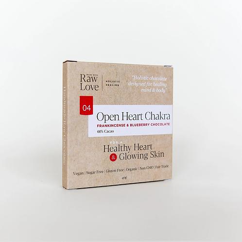 Open Heart Chakra Raw Chocolate 40g