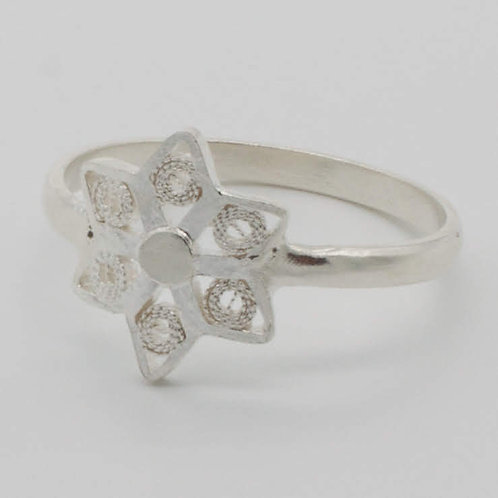 Flor Ring - Solid Sterling Silver