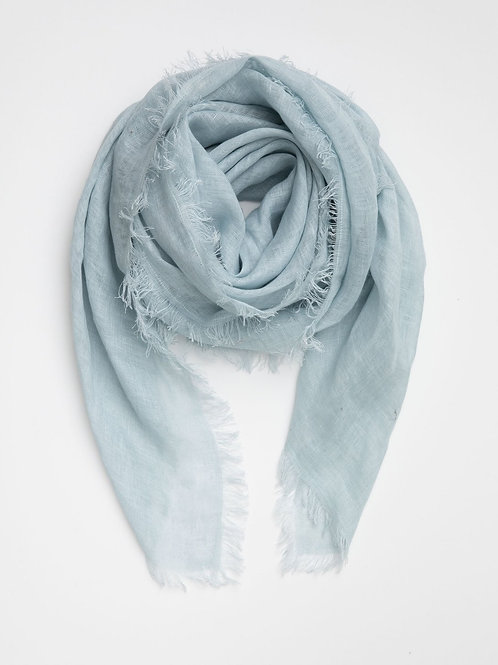 LINEN SCARF | NORDIC  - HAND LOOMED
