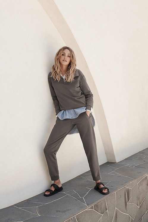 AULA PANT - GREY BY LAYER'D