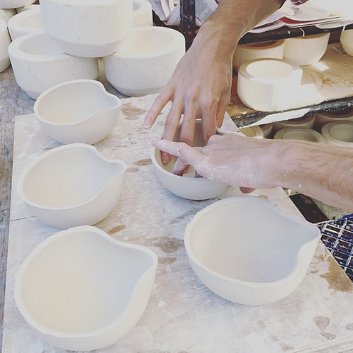 POURING BOWL AQUA  - BATCH CERAMICS