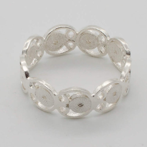Circuito Ring - Solid Sterling Silver
