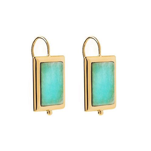 Najo Josephine Amazonite Earring
