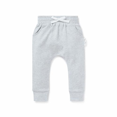 Grey Marle Harem Pant