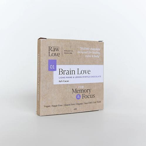 Brain Love Raw Chocolate 40g