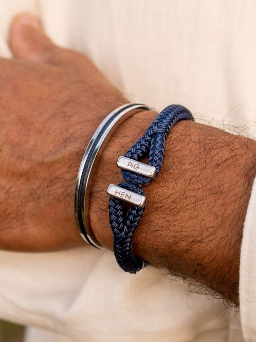 PIG & HEN - ICY IKE - NAVY   SILVER
