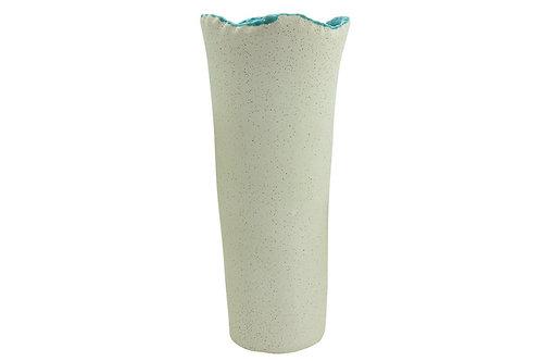 Sage Blue Vase 19x19x45cm