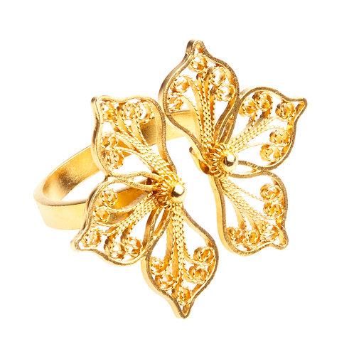 Malva Yellow Gold Ring