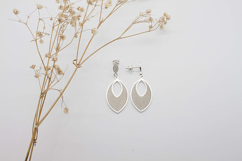 Sofia Stud Earrings - Solid Sterling Silver