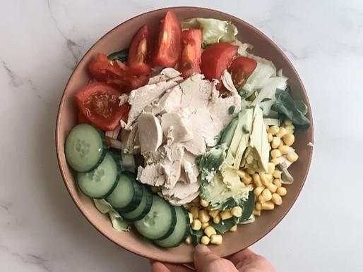 Super easy zesty lemon & coriander salad dressing🍋🥄🥣