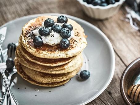 High protein pancakes - no protein powder needed!