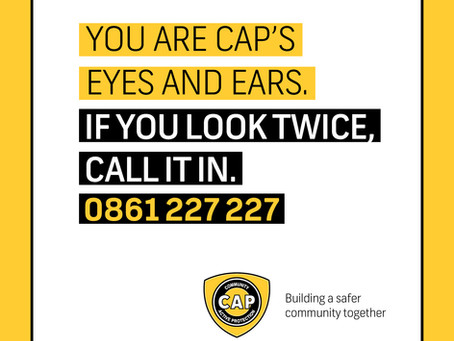 SUSPECT ARRESTED IN GLENHAZEL THANKS TO KEEN EYES FROM CAP SPOTTER!