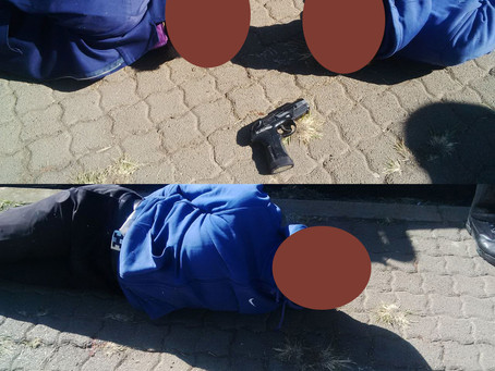 Two suspects arrested on Atholl Oaklands Rd for their involvement in an attempted contact crime