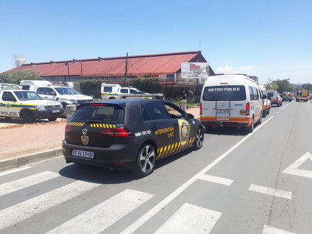 CAP ASSISTS WITH SAPS OPERATION