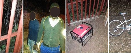 Two suspects arrested in Westcliff