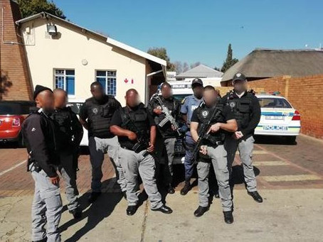 One suspect arrested in operation with SAPS!