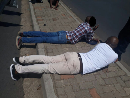 BREAKING NEWS!  SNATCH 'N GRAB SUSPECTS CAUGHT BY BRAND NEW ENTRY IN CAP'S (LPR) LICENCE PLATE RECOG