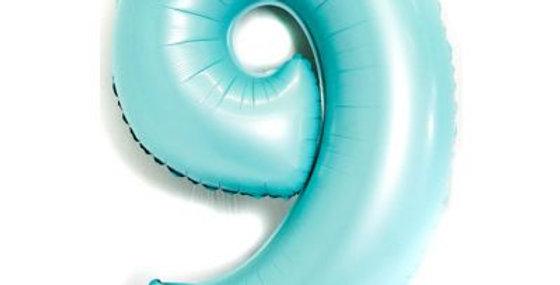 """Pastel Blue Foil Balloons 40"""""""