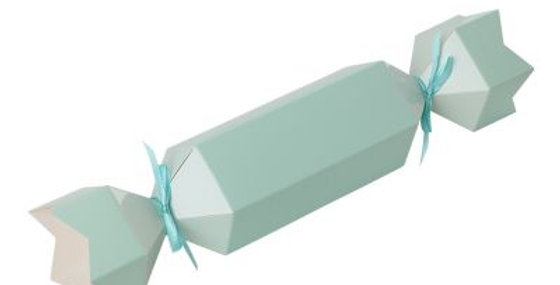 Paper Bonbons Treat Boxes - Green (P10)