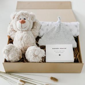 Ashy Bear Bedtime Box