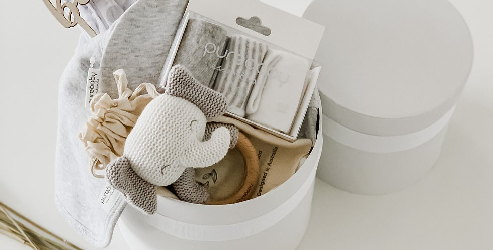 Ellie The Elephant Nappy Box