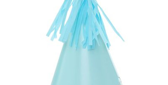 Paper Party Hat with Tassel Topper - Blue(P10)