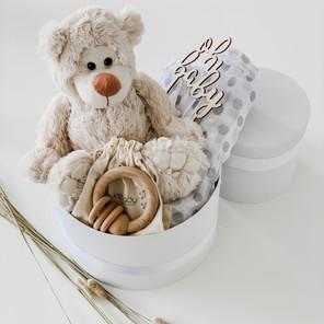 Ashy Bear Nappy Gift Box