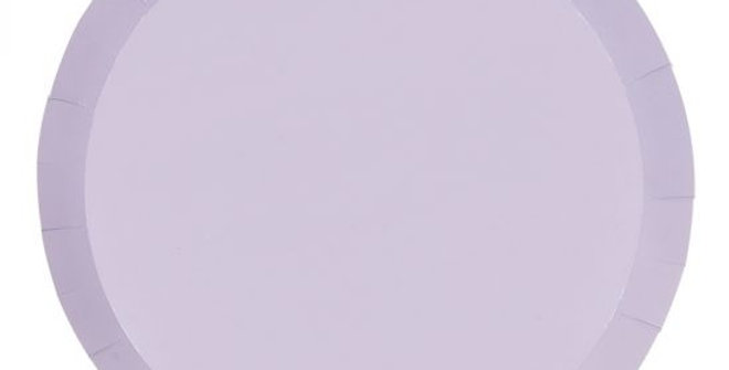 Paper Plates - Purple (P10)