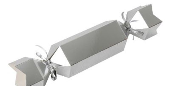 Paper Bonbons Treat Boxes - Silver (P10)