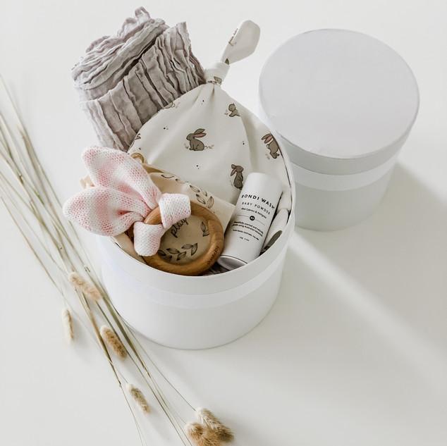 Bunny Nappy Gift Box #2