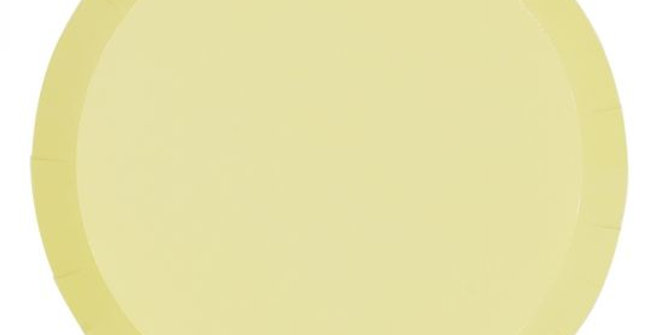Paper Plates - Yellow (P10)