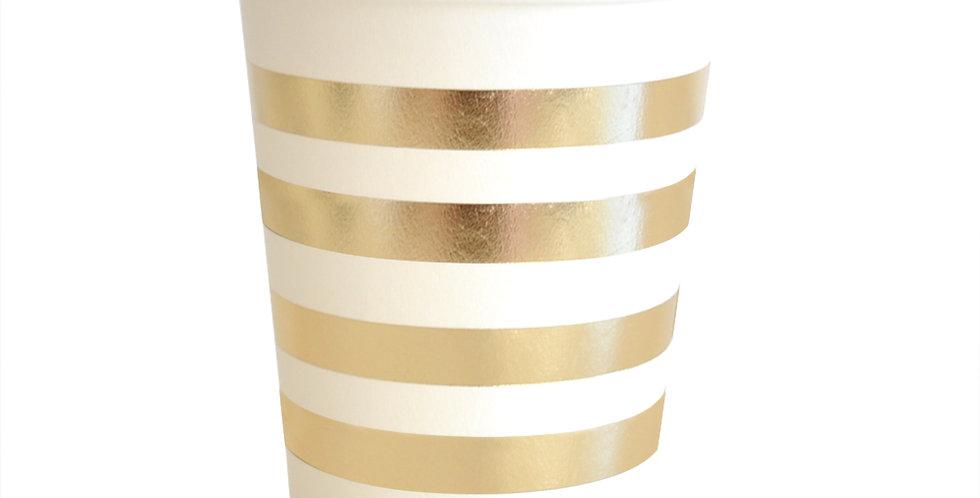 Gold Stripes Cup (P10 - 300ML) - ILLUME