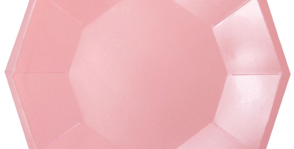 Pink Large Foil Plate (P10) - ILLUME