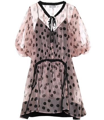 Lee Mathews Rayne Organza Tunic