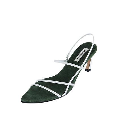 Reike Nen 3 Strappy Pointed Sandals - Khaki