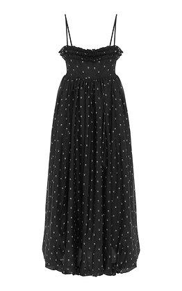 Lee Mathews Roxie Ruffle Slip Dress