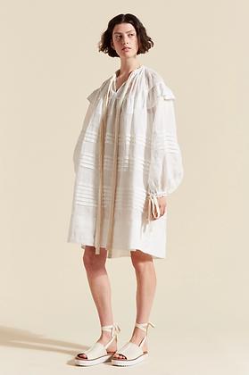 Lee Mathews Gigi Tunic Dress - White