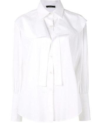 Ellery Icaro Button Up Shirt With Frill Yoke