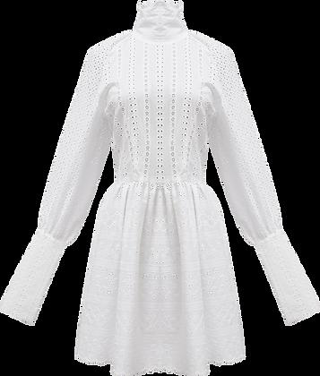 Sid Neigum Eyelet Mini Dress